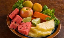 Rio Caliente Fruit plate