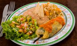 Rio Caliente food
